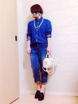 shihoさんの(GLOBAL WORK)を使ったコーディネート