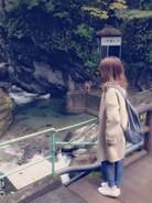 ラクなものを選りすぐり集めた秋山お散歩オフコーデ☻  だいぶ着回しているものばっかです♩