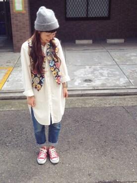 Ciaopanic名古屋店 ayumi**さんの(FWK by engineered garments)を使ったコーディネート