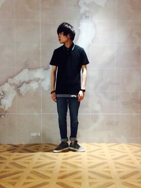 LOVE by KATHARINE HAMNETT マルイシティ渋谷|sjさんの(HAMNETT|ハムネット)を使ったコーディネート