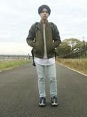 「Acne Studios College Loopback Cotton-Jersey Sweatshirt(Acne Studios)」 using this kotaro furusawa looks