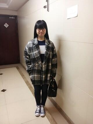 Jane-chanさんの「CONVERSE / ALL STAR FELT SLIP OX(CONVERSE|コンバース)」を使ったコーディネート