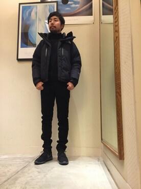 ビューティ&ユース ユナイテッドアローズ 神戸三宮店 Kiyotaka Nakagawaさんのダウンジャケット/コート「<THE NORTH FACE(ザノースフェイス)> BALTRO LIGHT JACKET/ダウンジャケット(THE NORTH FACE ザノースフェイス)」を使ったコーディネート