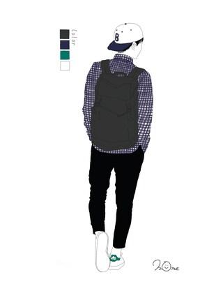 mone✳さんの「起毛チェックシャツ長袖/705220(RAGEBLUE|レイジブルー)」を使ったコーディネート