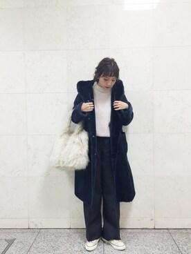 田中里奈さんの(THE SHINZONE|ザ シンゾーン)を使ったコーディネート