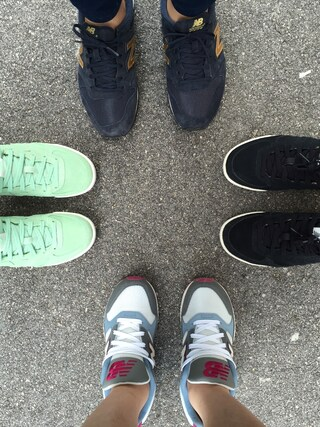 Crowd SG|MerlizaLimさんの「New Balance Heritage Court 300 Women's Sneaker(New Balance|ニューバランス)」を使ったコーディネート
