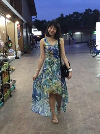 Crowd SG|MerlizaLimさんの「Moreno Dress in Lime(KLARRA|クラーラ)」を使ったコーディネート