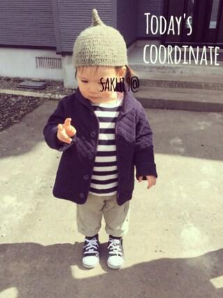 saku19@さんの「CONVERSE/BABY ALLSTAR RZ(CONVERSE|コンバース)」を使ったコーディネート