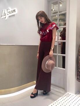 Lily Brown|erina sumitomoさんのコーディネート