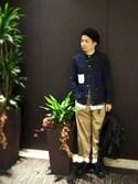 fuzeeさんの「Kagami Ken×JUNRed別注クッション(JUNRed|ジュンレッド)」を使ったコーディネート