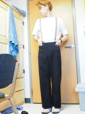 (GLOBAL WORK) using this ぼく (ほぼ)エブリデイ古着 looks