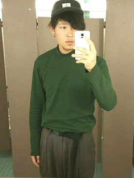 (UNIQLO) using this ぼく (ほぼ)エブリデイ古着 looks