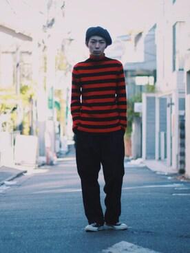 OLTA_Yusei Sasayamaさんの(CA4LA|カシラ)を使ったコーディネート