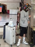 jayjoonkimさんの「Topas Multiwheel 78cm Suitcase(Rimowa|リモワ)」を使ったコーディネート