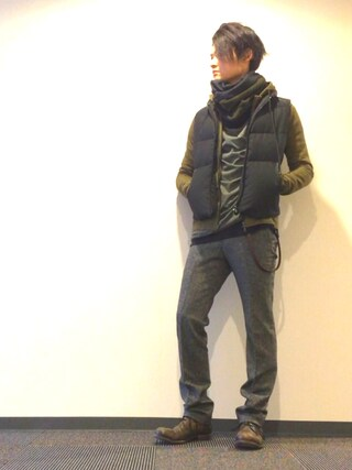 chappiブーツ「10sei0otto 」Styling looks