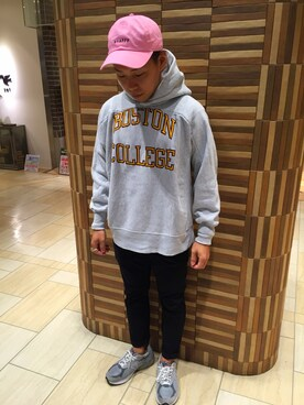 "BEAVER名古屋店|funatoさんの「BEAVER/ビーバー POLO CAP ""happy"" (182)(BEAVER)」を使ったコーディネート"