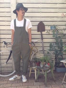 shinkai teruhikoさんの(adidas)を使ったコーディネート