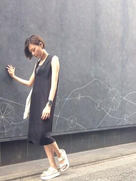 BAG IN THE DAY|asakaさんの(TOGA)を使ったコーディネート