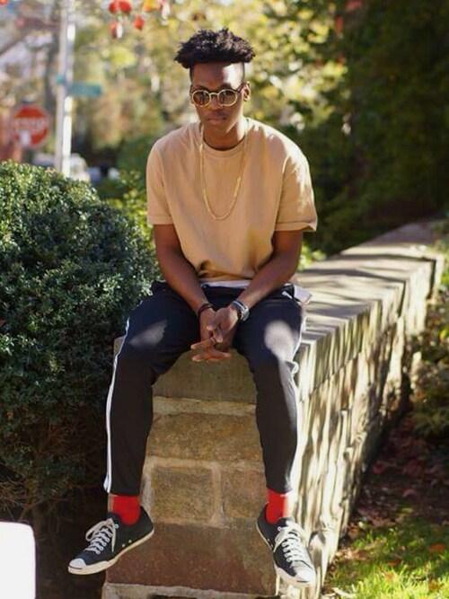 「adidas 'Tiro 15' Slim Fit CLIMACOOL® Training Pants(adidas)」 using this AustinPeete looks