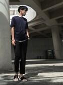 「Acne Studios Otis Easy A Cotton-Poplin Shirt(Acne Studios)」 using this iz looks