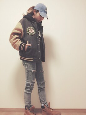「Timberland Premium Work Boot(Timberland)」 using this saya looks