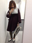 yumiさんの「【Market】エスニッククラッチバッグ(coen コーエン)」を使ったコーディネート