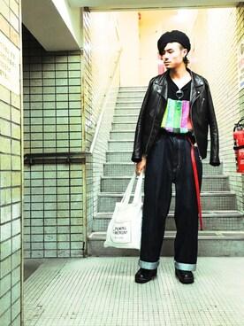 Lui's 神戸店|KOU SUEMATSUさんの(FACETASM|ファセッタズム)を使ったコーディネート