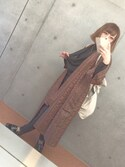 「FOREVER 21 Skinny Knit Trousers(Forever 21)」 using this にゅんにゅん looks