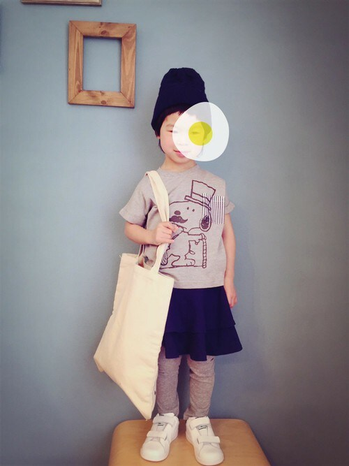 e4c6c087f0cf3 フェリシモキッズ(felissimo KIDS)|felissimo KIDSのTシャツ カットソーを使ったコーディネート - WEAR