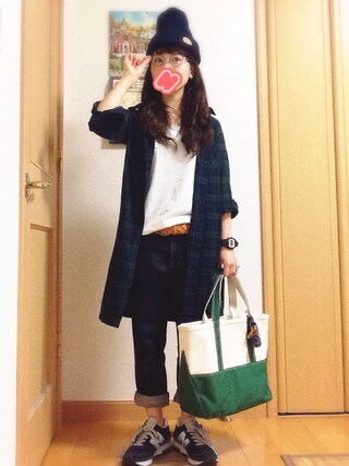na-poニットキャップ・ビーニー「IL BISONTE IL BISONTE / Knit Cap」Styling looks