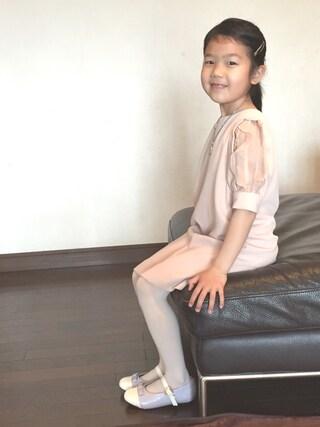 Fujishiro Ayakoさんの「シフォンワンピ♡可愛い(snidel|スナイデル)」を使ったコーディネート