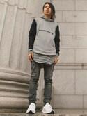 「Adidas Ultra Boost J&D Sneakers(adidas)」 using this Yukee Abbé  looks