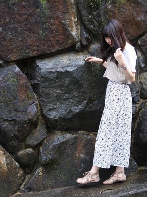ゆうな 大阪☆春夏秋冬さんの(wicca)を使ったコーディネート