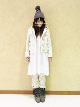 norimamiさんの(Minnetonka|ミネトンカ)を使ったコーディネート