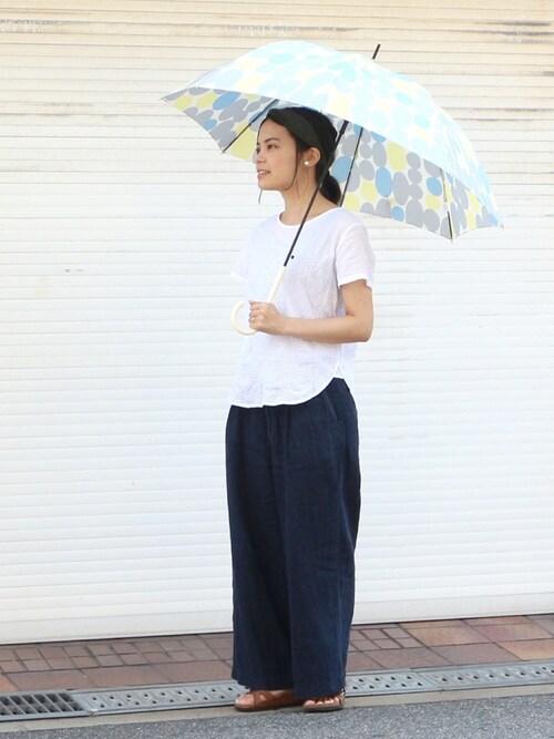 w.p.c-officialさんの「w.p.c 雨傘 kivi(オフホワイト)(w.p.c)」を使ったコーディネート