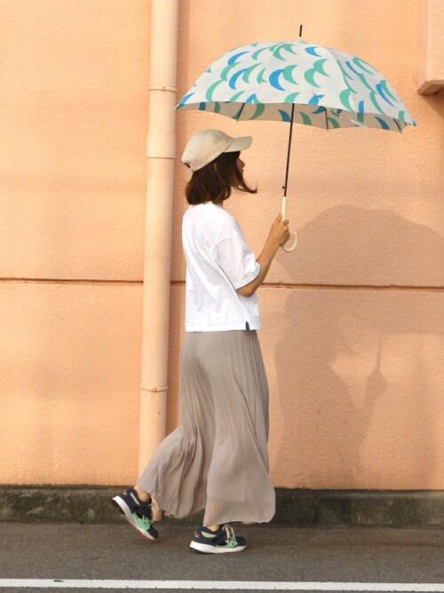 w.p.c-officialさんの「w.p.c 雨傘 ルナ(オフホワイト)(w.p.c)」を使ったコーディネート