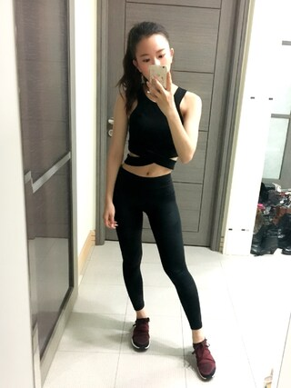 「Cheap Monday Material Cross-Front Tank Top(Cheap Monday)」 using this Jasmine:) looks
