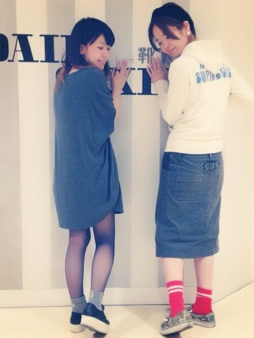 Satoさんの「【WOMEN】20デニールシアータイツ(靴下屋)」