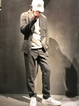COLONY 2139ららぽーと富士見店|Shinichi Yoshidaさんの「メンズローカットシューズ(COLONY 2139)」を使ったコーディネート