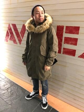 (AVIREX) using this AVIREX  福岡|NΔRUKIX looks