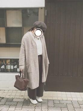 「厚地ワンポイントベレー帽(studio CLIP)」 using this s u looks
