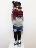 _yuachanさんの「SMELLY パールツキリボンポニー(SMELLY|スメリー)」を使ったコーディネート