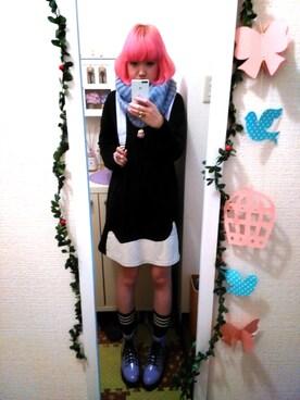 Motoko  Yamagamiさんの(夢展望 DearMyLove ユメテンボウディアマイラブ)を使ったコーディネート