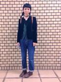 田口ジャワさんの「【展示】プライベートビーチ306号 スマホ手帳(Handmade|ハンドメイド)」を使ったコーディネート