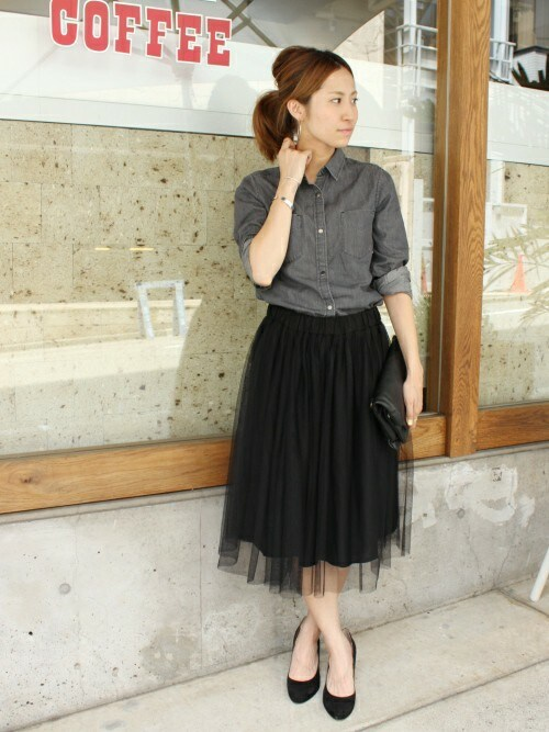 e0e51faece6ecd 出典:http://i7.wimg.jp. スカートのおしゃれな秋のトレンドファッション ...