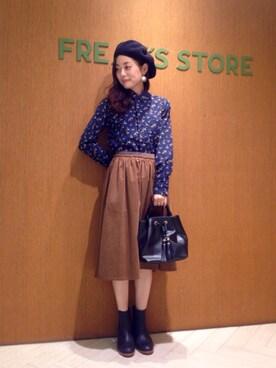 FREAKS STORE 池袋パルコ店 Kyoko Ozawaさんの(FWK by engineered garments)を使ったコーディネート