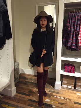 (ZARA) using this ワンフイ looks