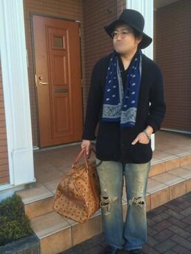 "Yusuke_Yamazaki is wearing BEAUTY&YOUTH UNITED ARROWS ""ハット"""