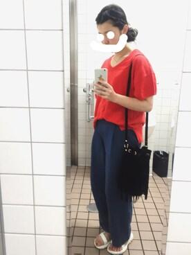 nanakoさんの(w closet|ダブルクローゼット)を使ったコーディネート