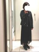 marota さんの「プリーツスカーチョ 723487(apart by lowrys|アパートバイローリーズ)」を使ったコーディネート